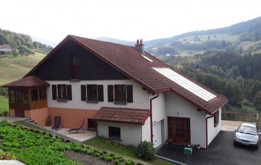 Location de vacances - Chambre d'hôtes à Le Menil - terrasse