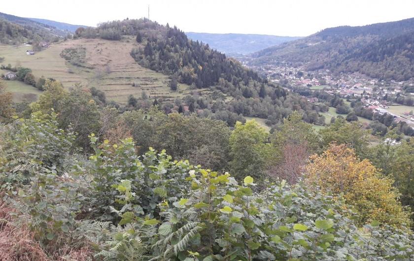 Location de vacances - Chambre d'hôtes à Le Menil - vue sur le village