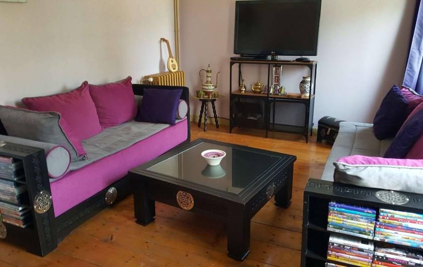 Location de vacances - Villa à Vimoutiers - Salon