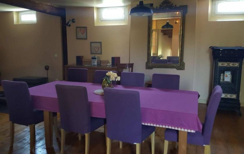 Location de vacances - Villa à Vimoutiers - Salle à Manger