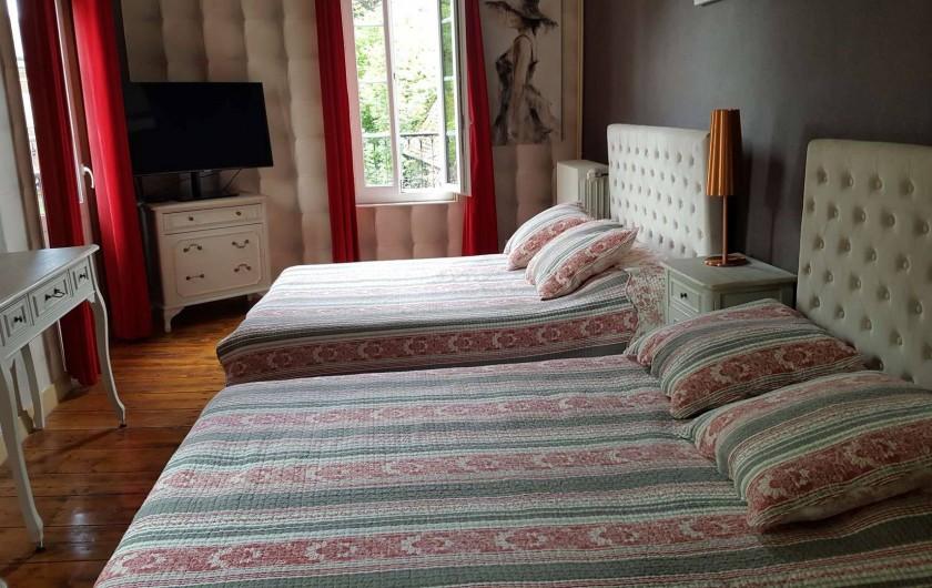 Location de vacances - Villa à Vimoutiers - Chambre 2