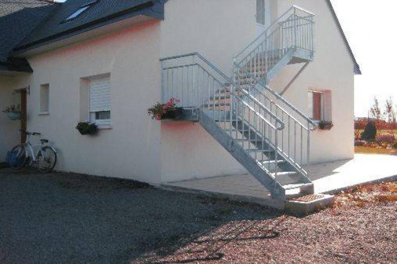 Location de vacances - Appartement à Roz-Landrieux