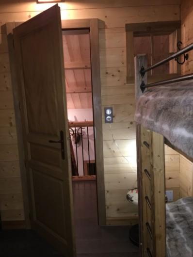 Location de vacances - Chalet à Manigod - Chambre triple - Etage