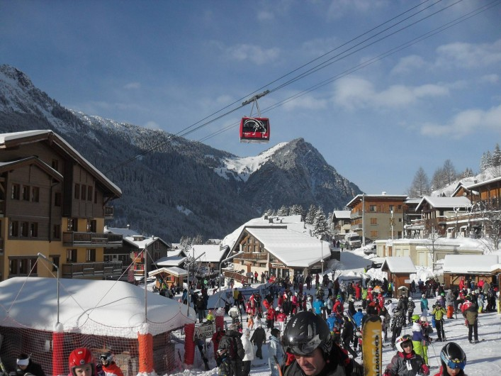Location de vacances - Appartement à Pralognan-la-Vanoise - Le front de neige