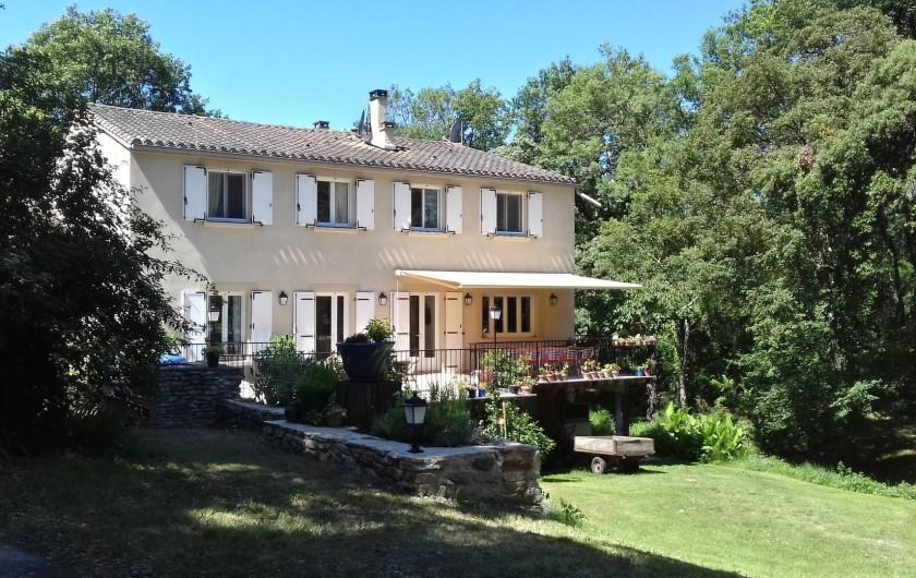 Location de vacances - Chambre d'hôtes à Saint-Martin-le-Vieil - La Tuilerie de Villelongue