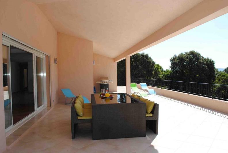 Location de vacances - Villa à Porto-Vecchio - Terrasse