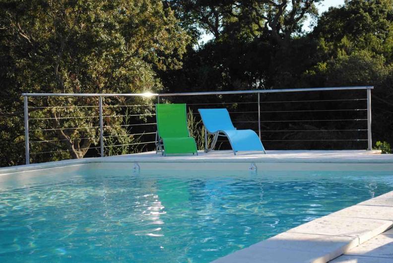 Location de vacances - Villa à Porto-Vecchio - Piscine