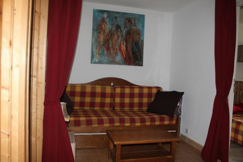 Location de vacances - Appartement à Saint-Sorlin-d'Arves - chambre 4 sur palier mezzanine 2 lits 80/190