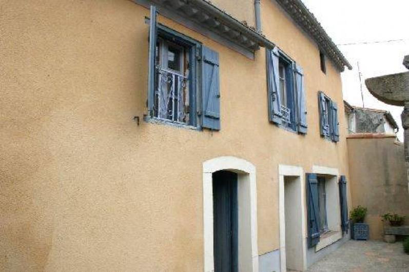 Location de vacances - Gîte à Carcassonne - 1ere porte     écurie 2eme porte   ENTREE