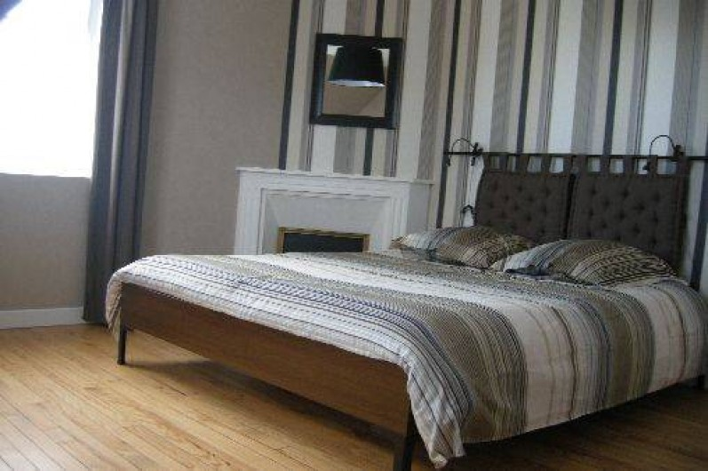Location de vacances - Maison - Villa à Treffiagat - Chambre 1 lit 160