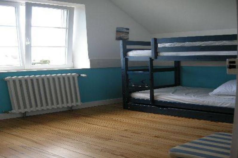 Location de vacances - Maison - Villa à Treffiagat - Chambre 4 lits superposés