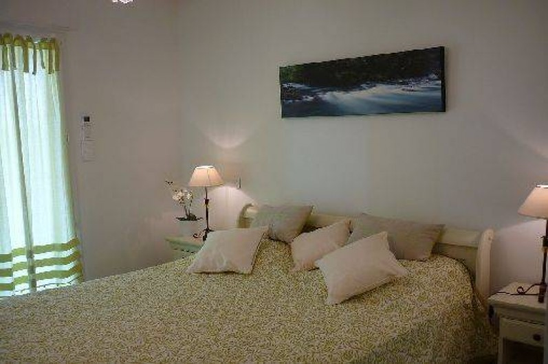 Location de vacances - Appartement à Propriano - la chambre parentale