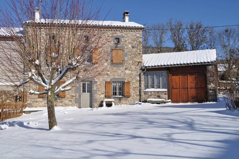 Location de vacances - Gîte à Saint-Flour - l'hiver