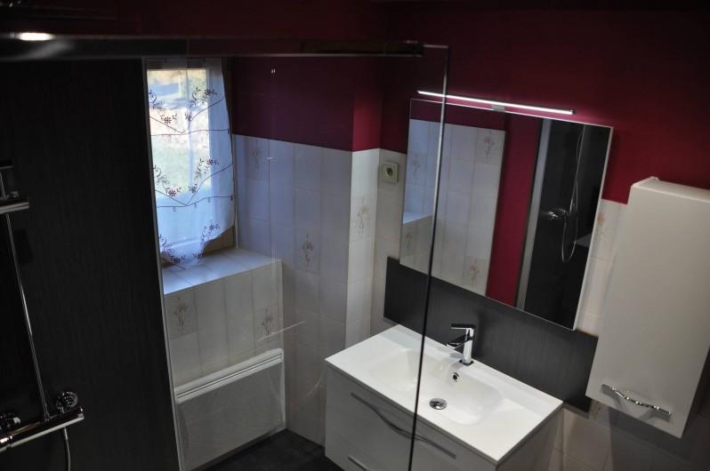 Location de vacances - Gîte à Saint-Flour - salle d'eau
