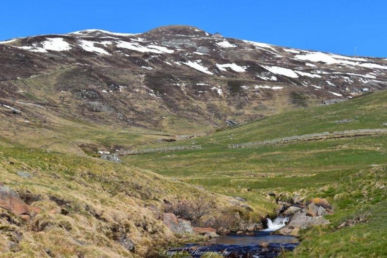 Location de vacances - Gîte à Saint-Flour - le Plomb du Cantal - alt : 1855 m