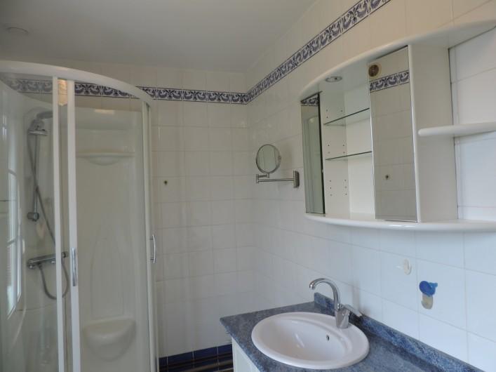 Location de vacances - Villa à Cayeux-sur-Mer - SALLE DE DOUCHE 2