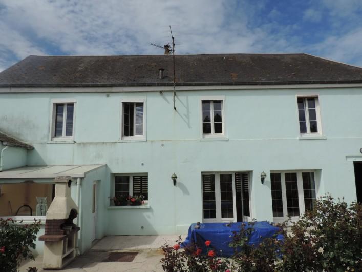 Location de vacances - Villa à Cayeux-sur-Mer - VUE DE DERRIERE