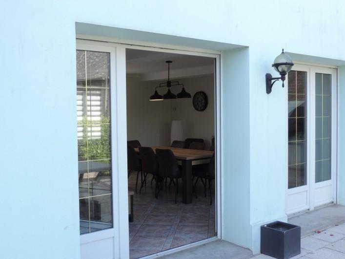Location de vacances - Villa à Cayeux-sur-Mer - SALON JARDIN