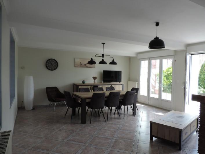 Location de vacances - Villa à Cayeux-sur-Mer - SALON