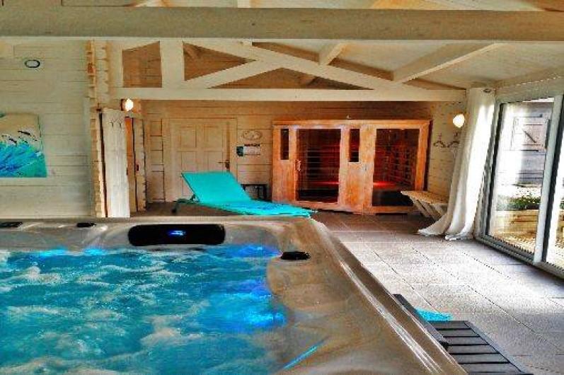 Location de vacances - Gîte à Sallertaine - Jacuzzi et sauna disponible sur réservation