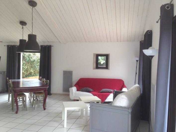 Location de vacances - Gîte à Sallertaine - séjour