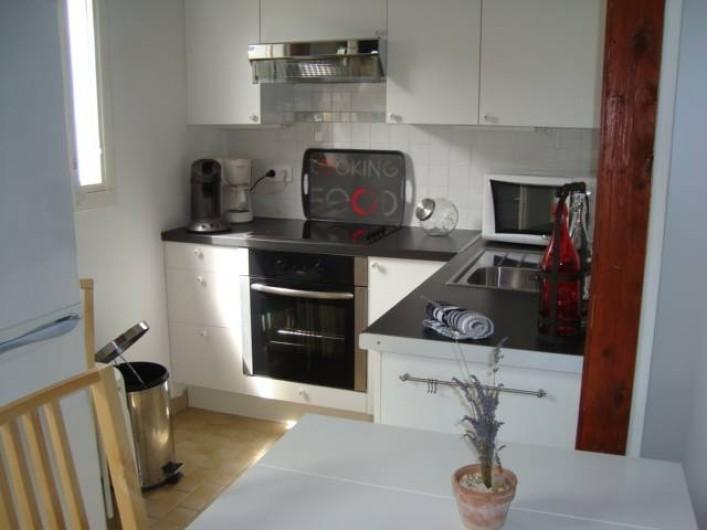 Location de vacances - Appartement à Marseillan - Coin cuisine