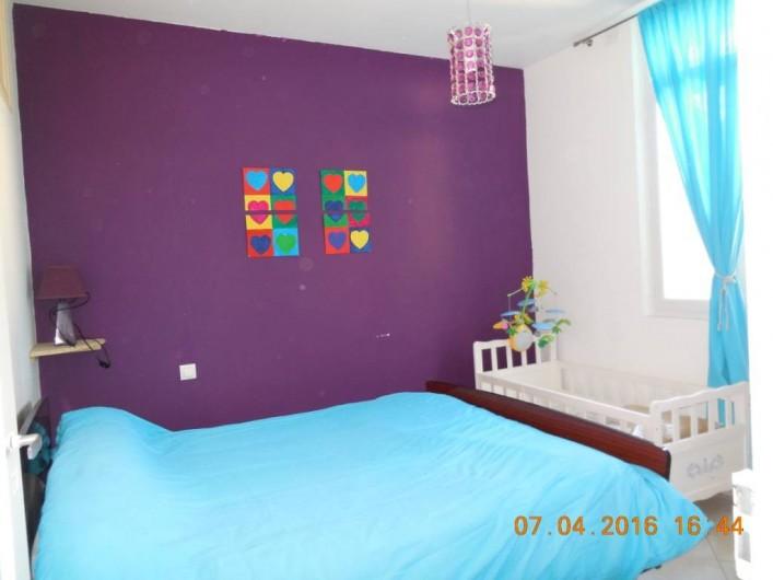 Location de vacances - Villa à Argelès Plage - chambre lit en140