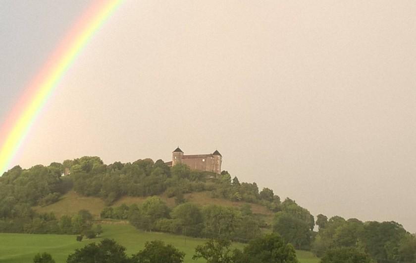 Location de vacances - Maison - Villa à Belvoir - Arc en Ciel au dessus du Château