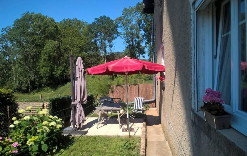 Location de vacances - Maison - Villa à Belvoir - Terrasse