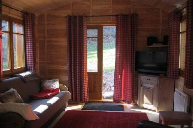 Location de vacances - Roulotte à Wangenbourg-Engenthal