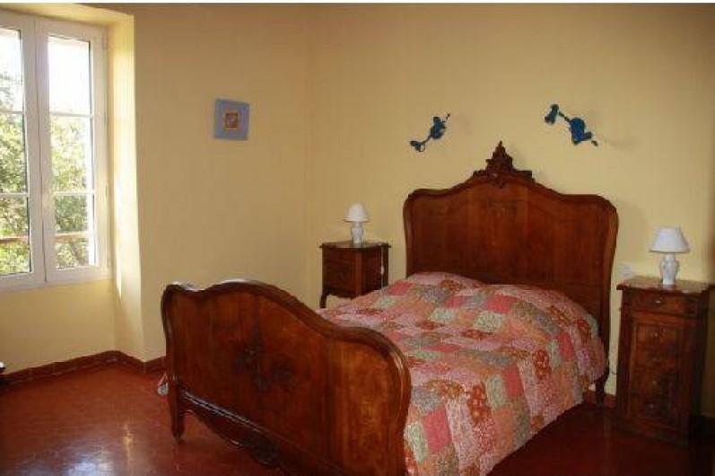 Location de vacances - Mas à Montfavet - Chambre bouton d'or