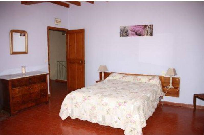 Location de vacances - Mas à Montfavet - Chambre lavande