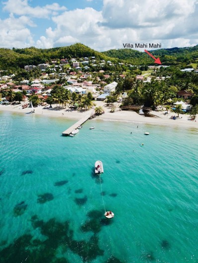 Location de vacances - Villa à Les Trois-Îlets - La plage