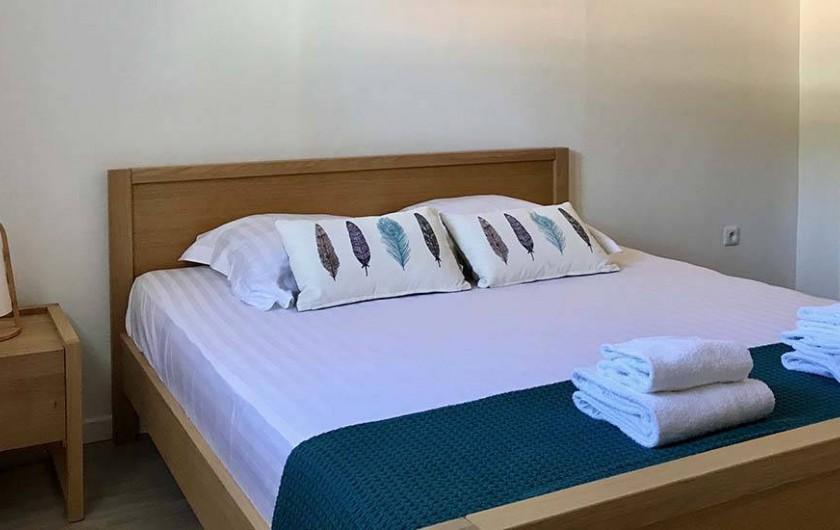 Location de vacances - Villa à Les Trois-Îlets - Chambre lit 160 AVEC CLIMATISATION