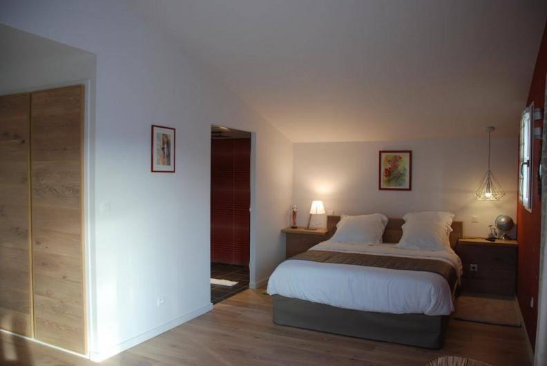 Location de vacances - Chambre d'hôtes à Saint-Magne-de-Castillon - Chambre Terracotta