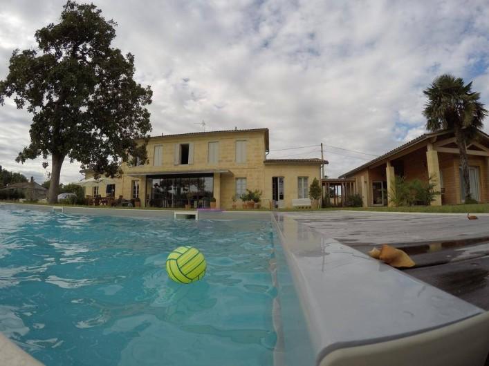 Location de vacances - Chambre d'hôtes à Saint-Magne-de-Castillon
