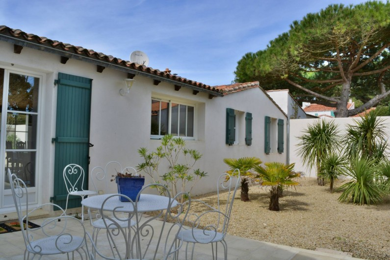 Location de vacances - Villa à Sainte-Marie-de-Ré - Le Patio