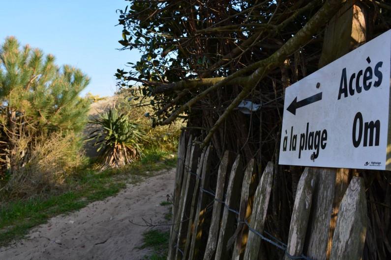 Location de vacances - Villa à Sainte-Marie-de-Ré - A 30m de votre porte...