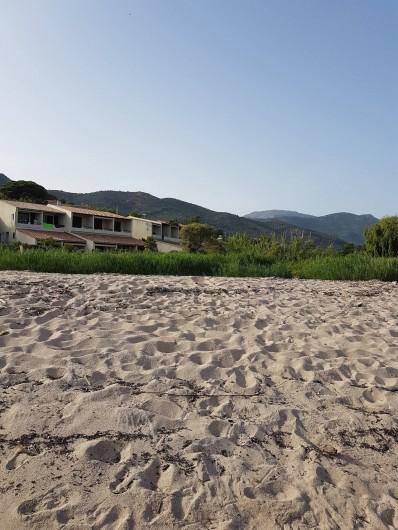 Location de vacances - Studio à Sagone - RESIDENCE VU DE LA PLAGE