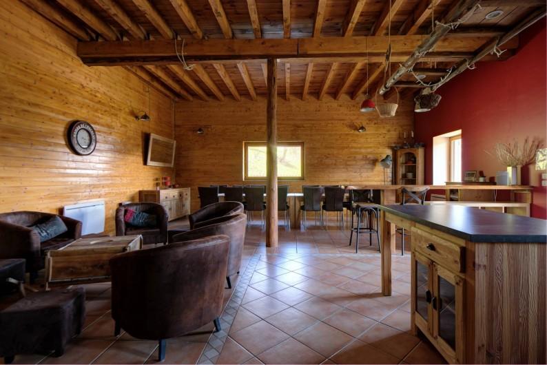 Location de vacances - Chalet à Fontcouverte-la-Toussuire - Pièce principale