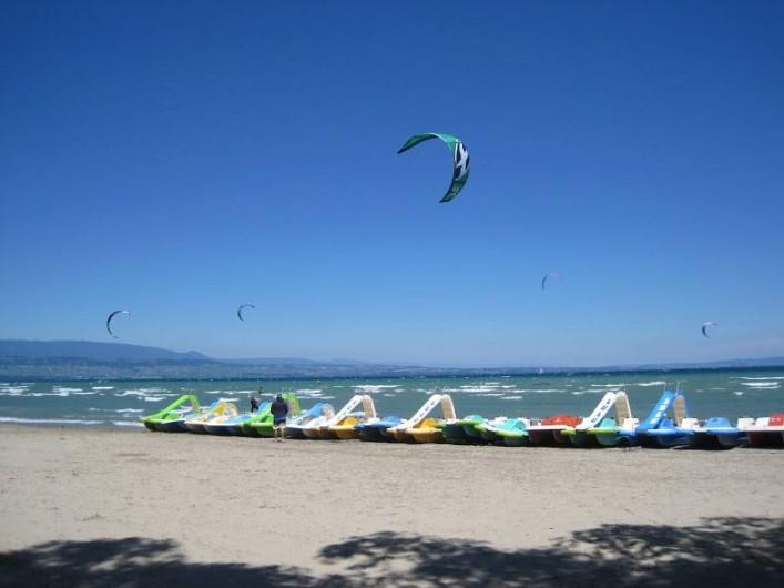 Location de vacances - Chalet à Anthy-sur-Léman - Kite surf Excenevex