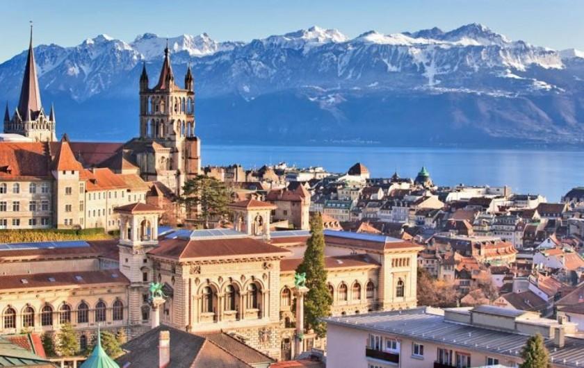 Location de vacances - Chalet à Anthy-sur-Léman - Centre ville de Lausanne