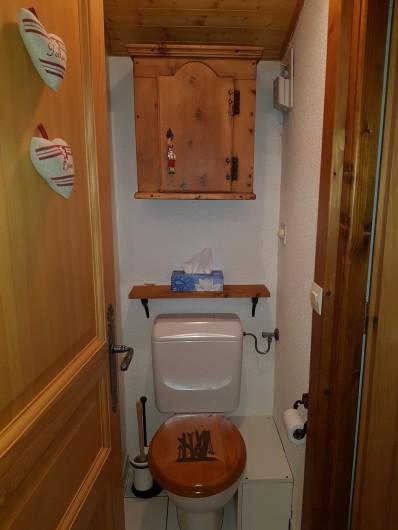 Location de vacances - Appartement à Le Grand-Bornand - WC N° 2 à l'étage des chambres