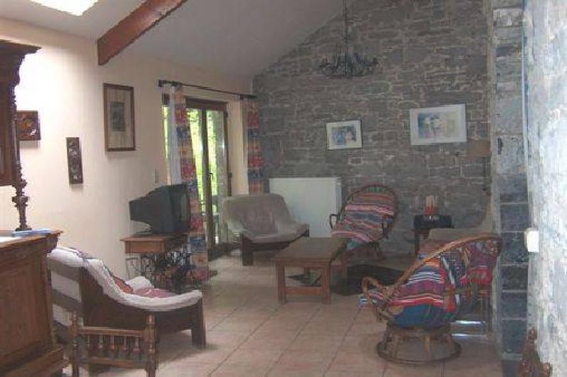 Location de vacances - Gîte à Falaen - Salon