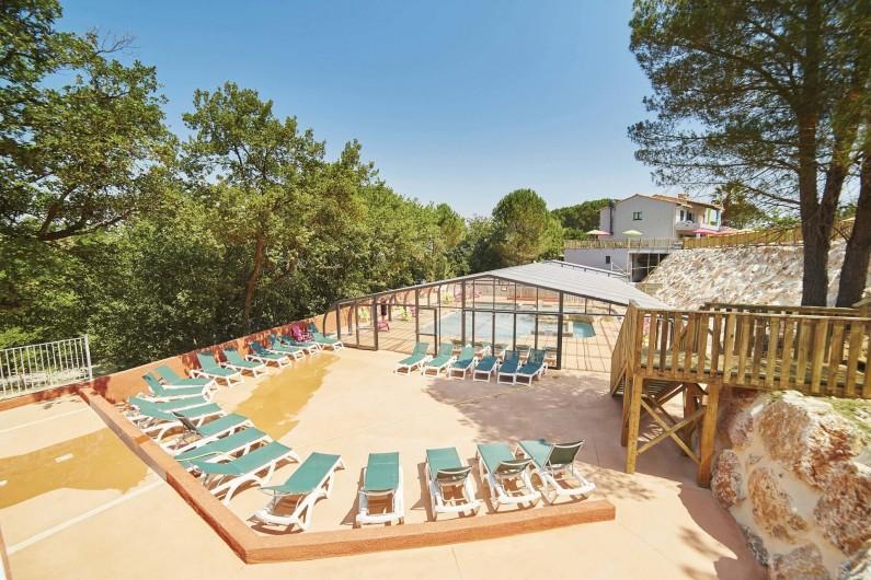 Location de vacances - Camping à Laroque-des-Albères - Piscine intérieure