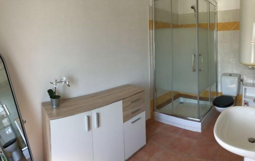 Location de vacances - Gîte à Bédarrides - Salle d'eau