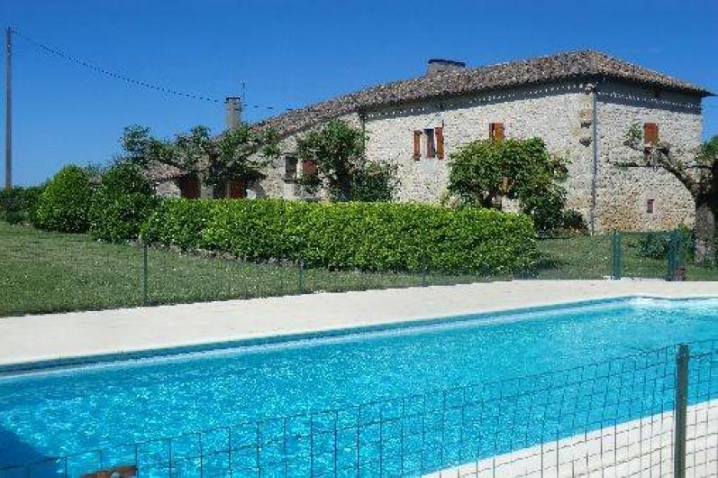 Maison Quercynoise  Sauzet  MidiPyrnes Avec Piscine Prive  La