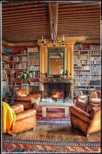 Location de vacances - Chambre d'hôtes à Chadeleuf - salon