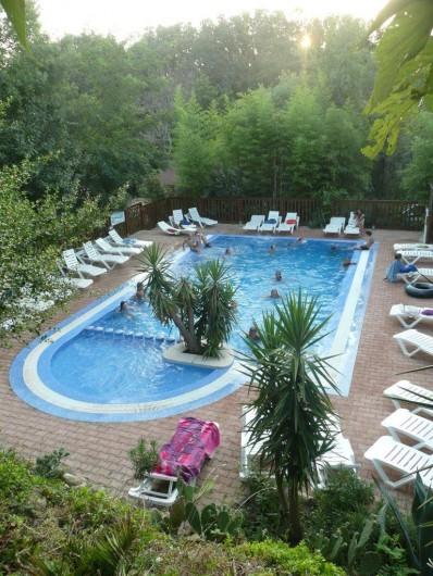 Location de vacances - Camping à Sorède - La piscine chauffée a