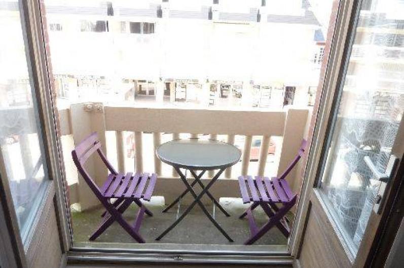 Location de vacances - Appartement à Fort-Mahon-Plage - Balcon vue mer à gauche